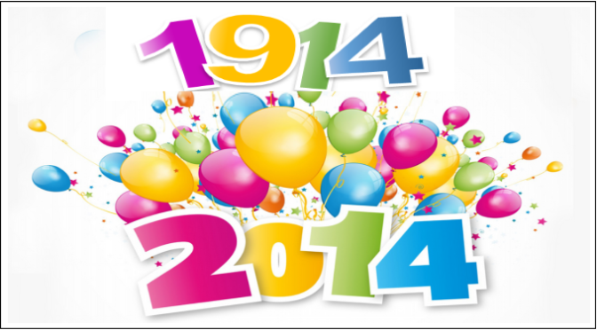 1914-2014: Celebrating the End of an Error!