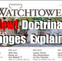 New! Important CHANGES in March 15th, 2015 Watchtower, Explained & Clarified